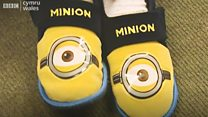 Pupils wear slippers for relaxed learning