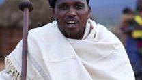 Umusaza muri Etiyopiya arifuriza umugisha indimi nshya za BBC