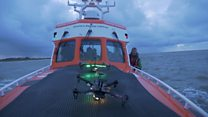 Lifeboat crew trials drones for rescues