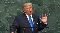Трамп пообещал уничтожить Северную Корею
