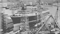QE2 launch remembered
