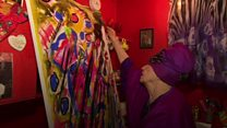 New exhibition for flamboyant artist
