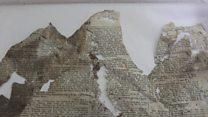Newspaper hidden under chapel floorboards for 155 years