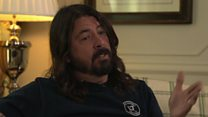 Foo Fighters on new music, Trump and Prince Harry