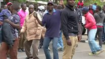 Kenya protest as court reads poll ruling