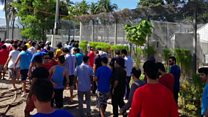 اولین گروه از پناهجوهای اردوگاههای مانوس و نائورو به زودی راهی آمریکا میشوند