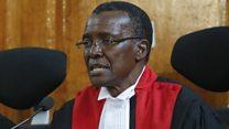 Kenya Supreme Court blame IEBC