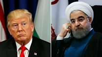 Trump and Rouhani swap insults in UN duel