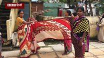 'साड़ी की क्वालिटी' के चक्कर में घिरी तेलंगाना सरकार