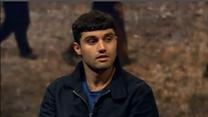Asylum seeker Samim Bigzad