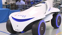 All terrain security robot unveiled