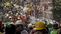 Rescuers dig through Mexico quake rubble