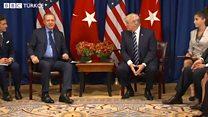 Erdoğan - Trump görüşmesi