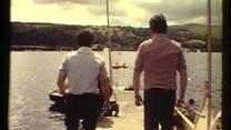 Ffilm: Llyn Bala 1981 Ffilm Trebor Roberts am