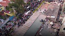 """""""Я не думал, что выживу"""": корреспондент Би-би-си о землетрясении в Мексике"""