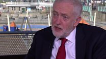 Corbyn 'would repeal Trade Union Act'