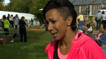 Olympic champion 'cut herself daily'