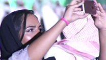 جشن ملی عربستان؛ برای اولین بار زنان در کنار مردان به استادیوم رفتند