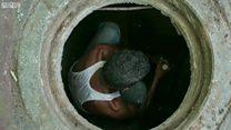 नालेसफाई कामगारांची व्यथा