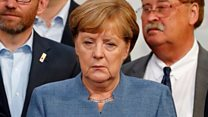 Leaders react to German election result