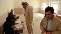 Jubilant mood as Iraqi Kurds vote