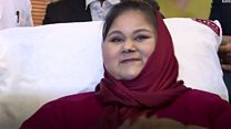 """رحلة المصرية إيمان عبد العاطي """"أسمن امرأة في العالم"""""""