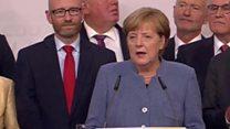 Bà Merkel trở thành thủ tướng nhiệm kỳ thứ tư