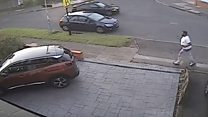 Man sought in hit-and-run probe