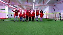 The pre-school that teaches through sport