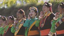 တရုတ်က အနမ်းယဉ်ကျေးမှု