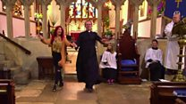 Strictly's Reverend Richard rocks aisle