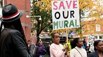 Protests over future of Reading black culture mural