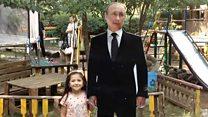 Putin Ermənistanın uşaq meydançasında necə peyda oldu?