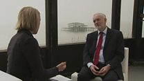 Jeremy Corbyn interview with Laura Kuenssberg