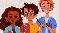 Is Hermione Granger black?