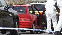 Video from scene of Portbury Hundred incident