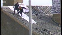 Prison hostage relives rooftop ordeal