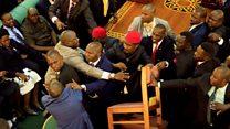 Uganda: See how MPs beat demsef