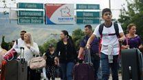 Venezuelans seek new life in Colombia