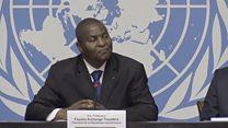 """""""Nous ne pouvons pas parler de génocide en Centrafrique"""" Faustin Archange Touadéra"""