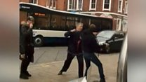Street fight bus driver sentenced