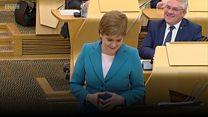 Sturgeon jokes about Labour 'infighting'
