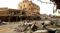 کشته شدن چهل غیرنظامی در حمله هوایی نیروهای ائتلاف به رهبری آمریکا به شهر رقه