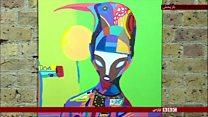 پای صحبت یک هنرمند خیابانی که منبع الهامش هنر مدرن آفریقاست