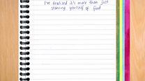 Maya's anorexia diary