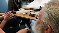 Dementia patients' trip down memory lane