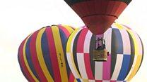 Burners ignited for balloon festival