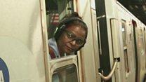 अमेरिकेतल्या प्रथम भारतीय महिला सबवे कंडक्टर सुजाता गिडला