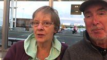 How Monarch passengers heard the news