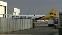 Planes stranded as airline ceases trading
